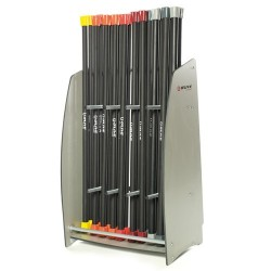 Rack de rangement pour barres à charges fixes