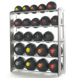 Rack de rangement pour 20/25 medecine balls