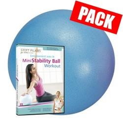 20 ballons paille de 20 cm + dvd ball