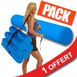 Pack 10 Foam Roller + 1 offert