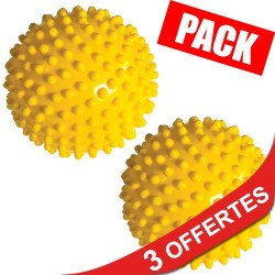 Pack 7 Myo therapy balls plus (15 cm.) + 3 offertes !