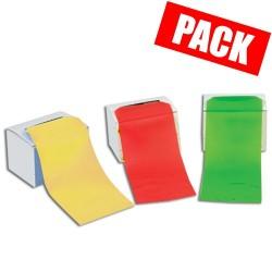 Pack rouleaux : 1 très léger + 1 léger + 1 moyen