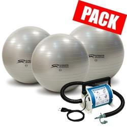 Pack 10 ballons 65 cm + 1 souffleur