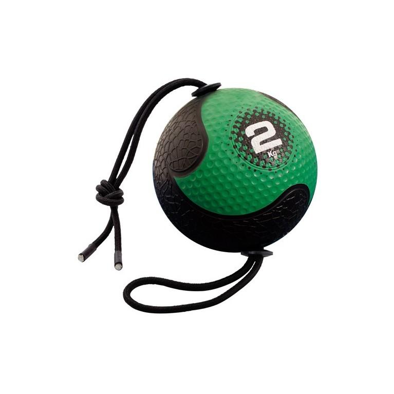 Medecine ball avec corde