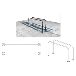 Parallel bars for street workout and calisthenics