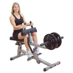 Commercial seated calf raise
