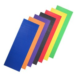 Lot de 10 yoga mat oranges