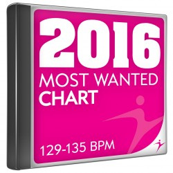 Most wanted chart 2016 130-135 bpm