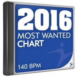 Most wanted chart 2016 140 bpm