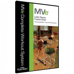 MVe® Latin Dance Fusion Chair DVD
