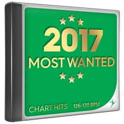 Most wanted 2017 - Chart hits - 126-120 bpm
