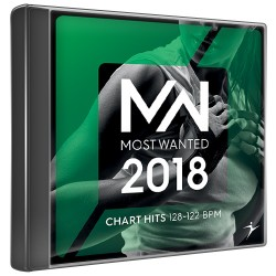 Most wanted 2018 - Chart hits - 128-122 bpm