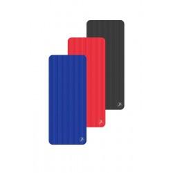 Pack de 10 tapis rouge 140x60cmx15mm + 1 rack
