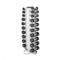 Rack de rangement vertical pour haltères