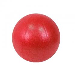 Ballon paille 25 cm rouge