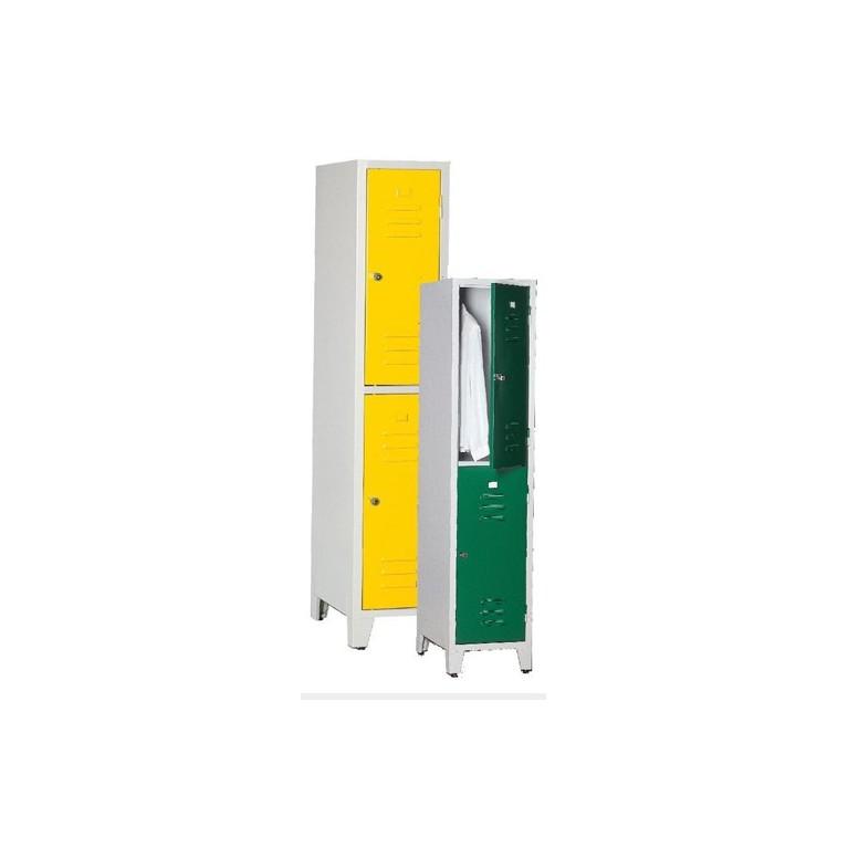 Armoire monobloc 2 casiers 300 mm