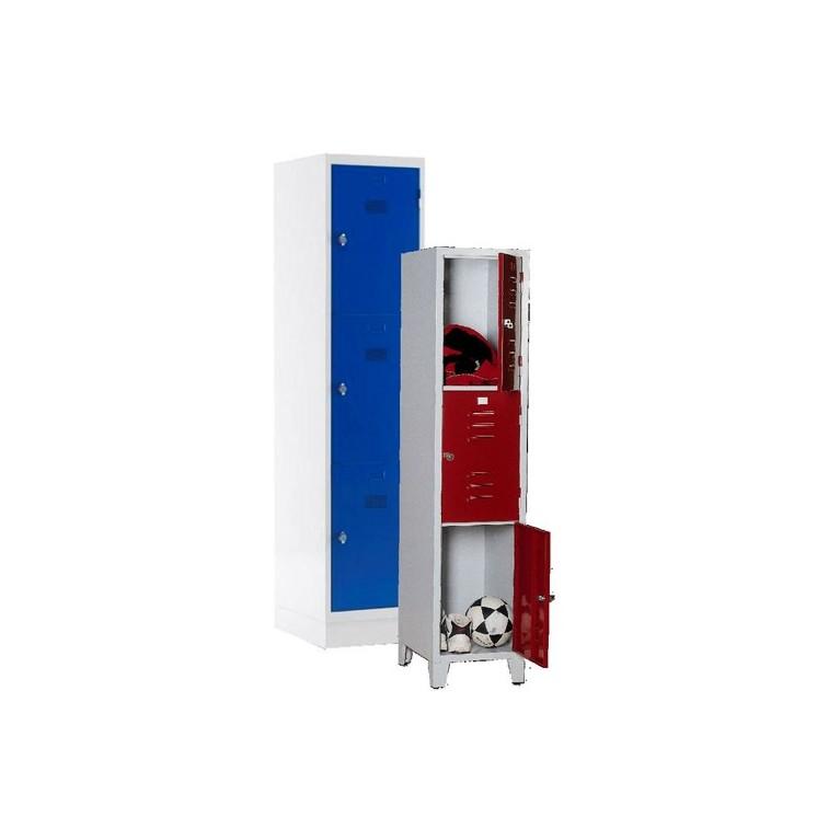 Armoire monobloc 3 casier
