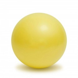 Pilates ball 18 cm jaune