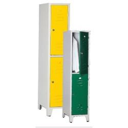 Armoire monobloc 2 casiers 400 mm