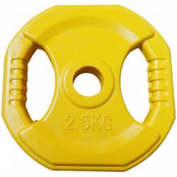 DISQUE PUMP 2.5KG -  JAUNE