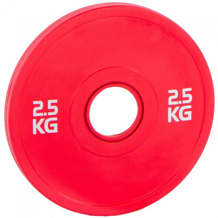 DISQUE BUMPER ROUGE - 2.500 KG