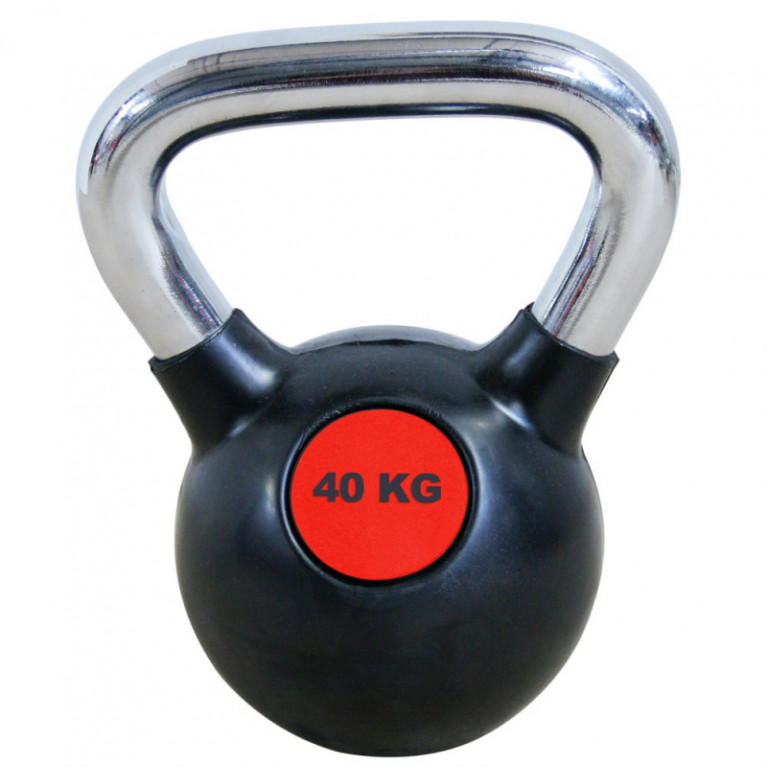 KETTLEBELL ROUGE ET NOIR - 40 KG