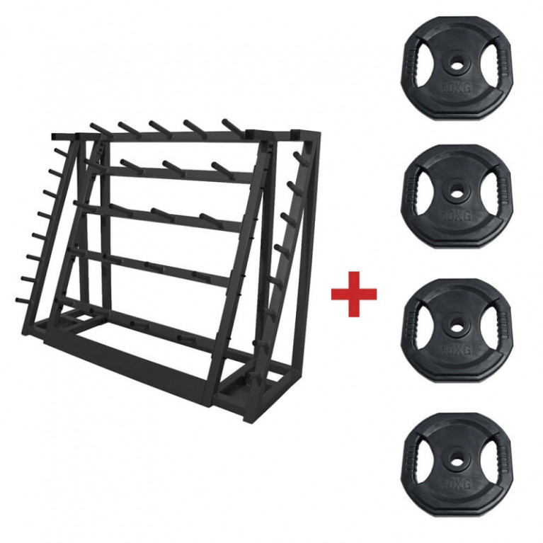PACK RACK + 20 KITS PUMP 20KG NOIR (20KG)