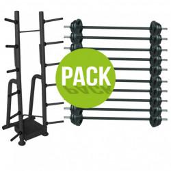 PACK RACK + 10 KITS PUMP NOIR (20KG)