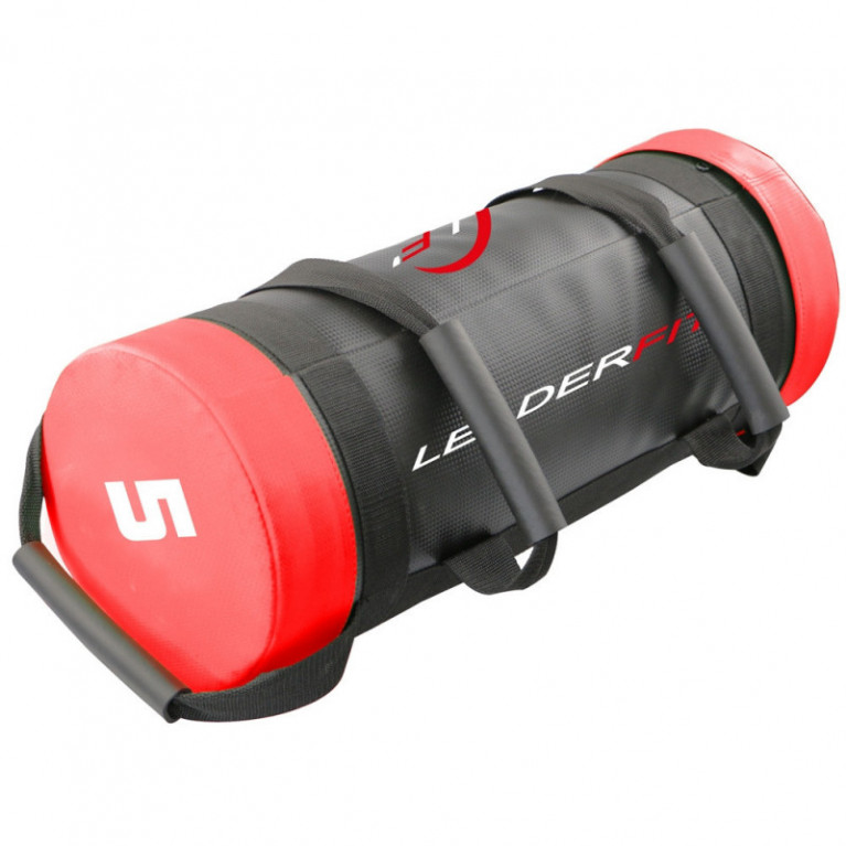 POWER BAG 5KG - ROUGE ET NOIR