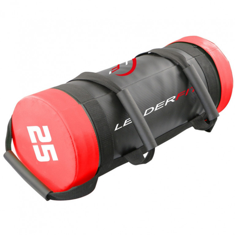 POWER BAG 25KG - ROUGE ET NOIR