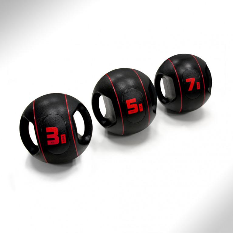 MEDECINE BALL A POIGNEES - 3 KG