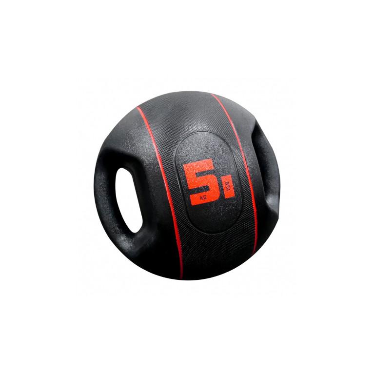 MEDECINE BALL A POIGNEES - 5 KG