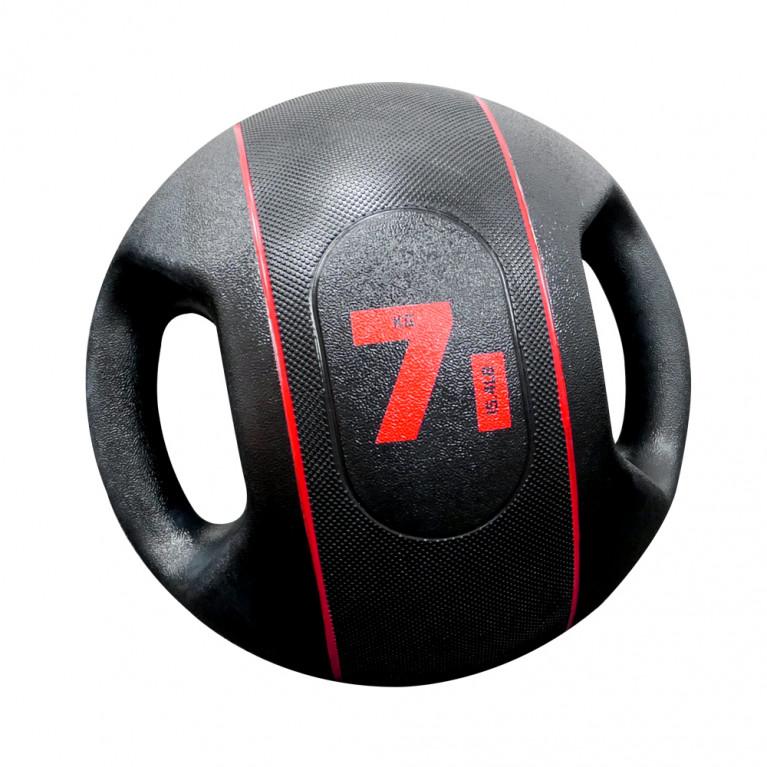 MEDECINE BALL A POIGNEES - 7 KG