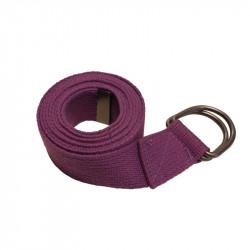 Sangle yoga violet
