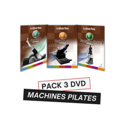 PACK 3 DVD FORMATION MACHINES PILATES