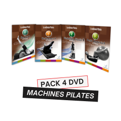 PACK 4 DVD FORMATION MACHINES PILATES