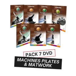 PACK 7 DVD FORMATION MACHINES PILATES ET MATWORK