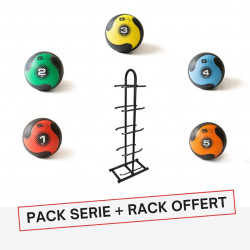 PACK PRO MEDECINE BALL ELITE + RACK OFFERT