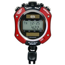 Chronomètre 30 mémoires solaire