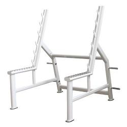 Rack à squat avec sécurité