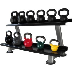 Kettlebells rack