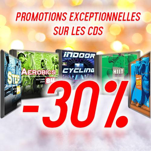 Promotion exceptionnelle CDs